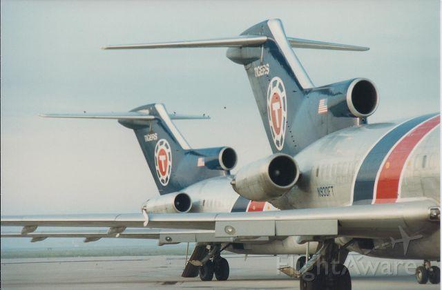 Boeing 727-100 (N936FT) - N930FT & N936FT TAIL SHOTS