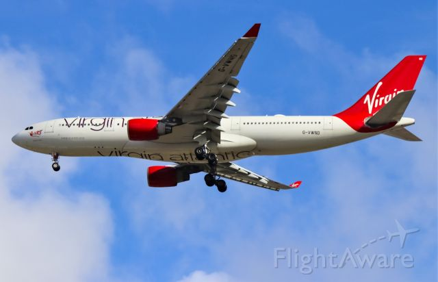 Airbus A330-200 (G-VWND) - VIR29 arriving from London Gatwick