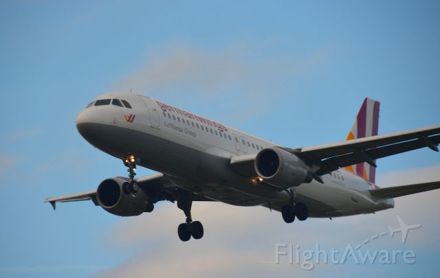 Airbus A320 (D-AIPX) - D-AIPX crashed on March 24, 2015 as 4U9525/GWI18G killing all 144 passengers and 6 crew. Seen at LHR on July 14, 2014.