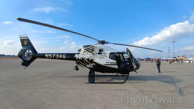 HARBIN HC-120 (N573AG) - SAPD Helicopter at San Antonio Airshow 2017