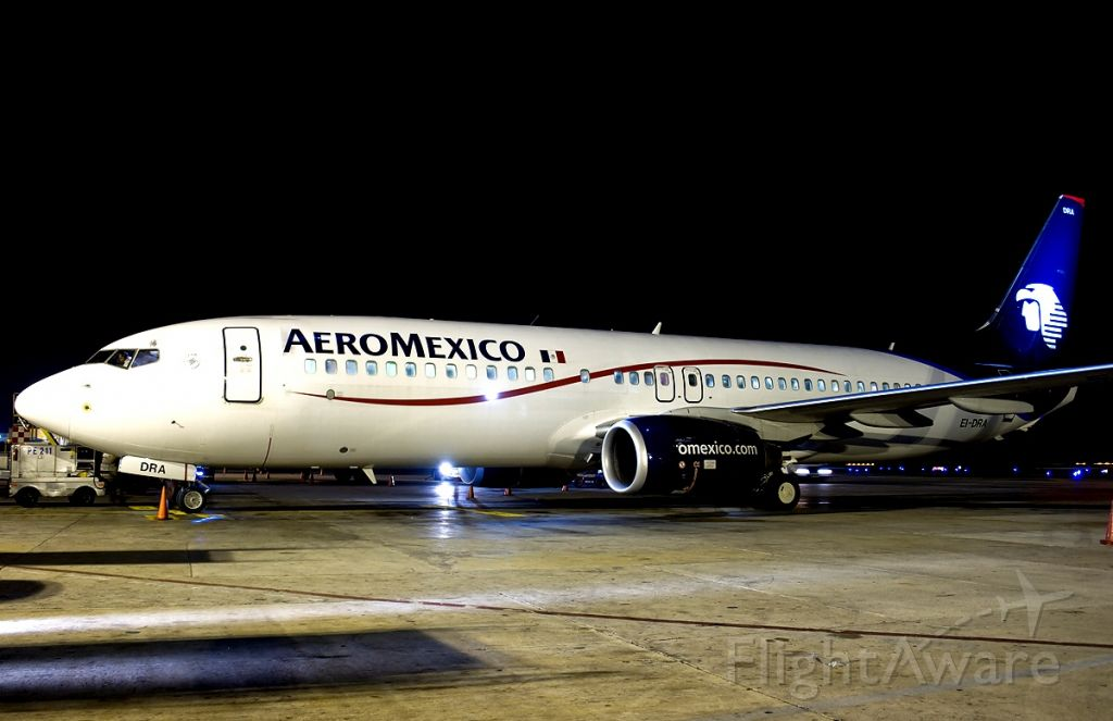 Boeing 737-800 — - One of AMX Boeing 738