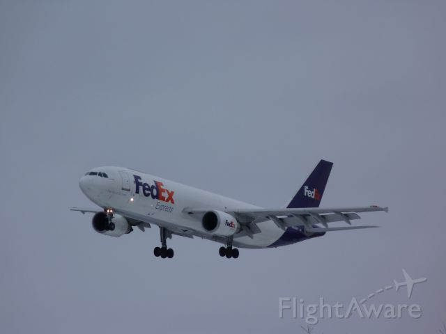 N689FE — - landing on #32, after short flight( 18 mins.) from Montreal.