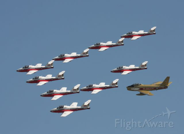 — — - Snowbird Heritage Flight