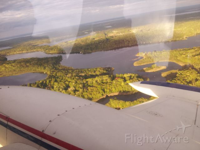 Cessna 310 (N2282F) - A nice Northern Minnesota evening