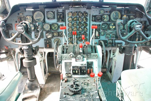 FAIRCHILD (1) Provider — - Front deck of the C123.  Very similar to 707?
