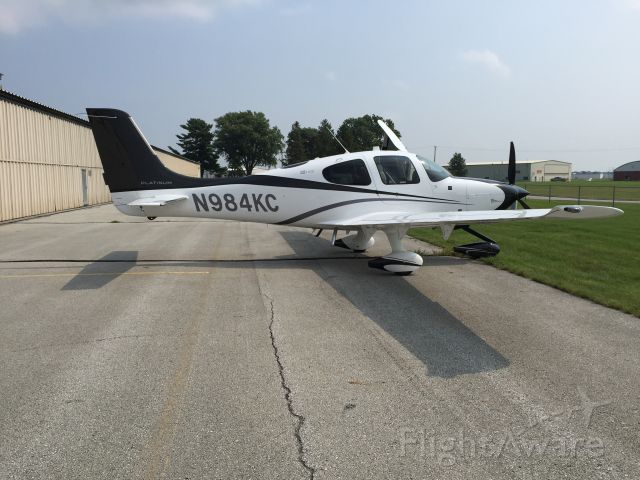 Cirrus SR-22 (N984KC) - Cirrus SR-22 GTS - Ames, Iowa
