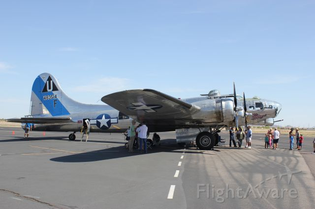Boeing B-17 Flying Fortress (N9323Z) - Chandler airport appreciation days 2013, April 6th 2013