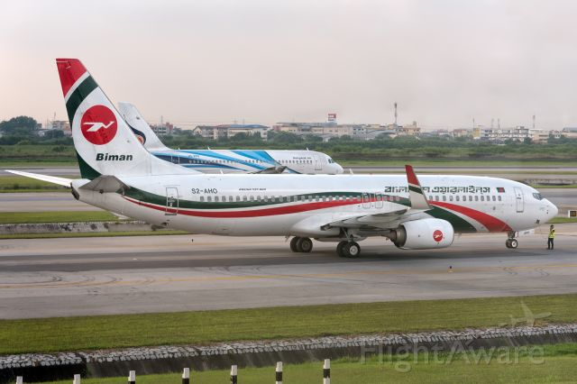 Boeing 737-800 (S2-AHO) - 29th Sept., 2017
