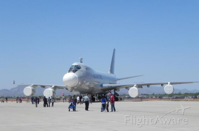 ABQ1 — - The mothballed Airborne Laser Testbed at the Davis-Monthan airshow April 2012