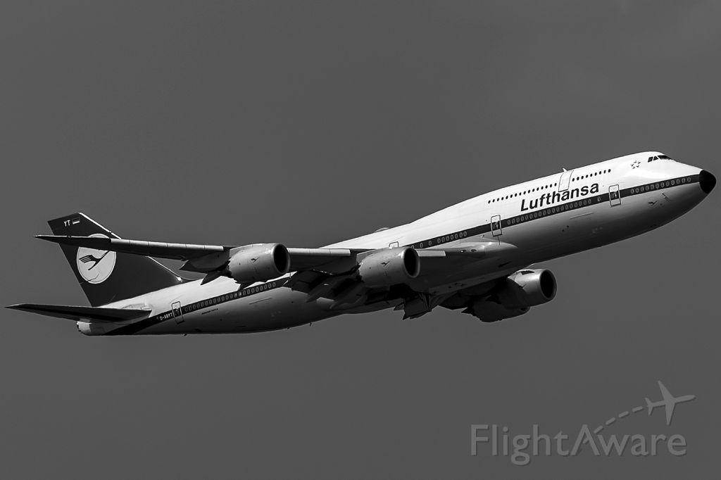 BOEING 747-8 (D-ABYT) - Retro!
