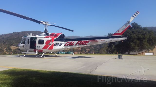 N489DF — - Copter 901 at Alma Helibase