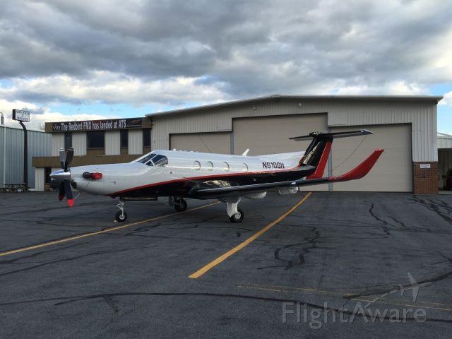 Pilatus PC-12 (N610GH)