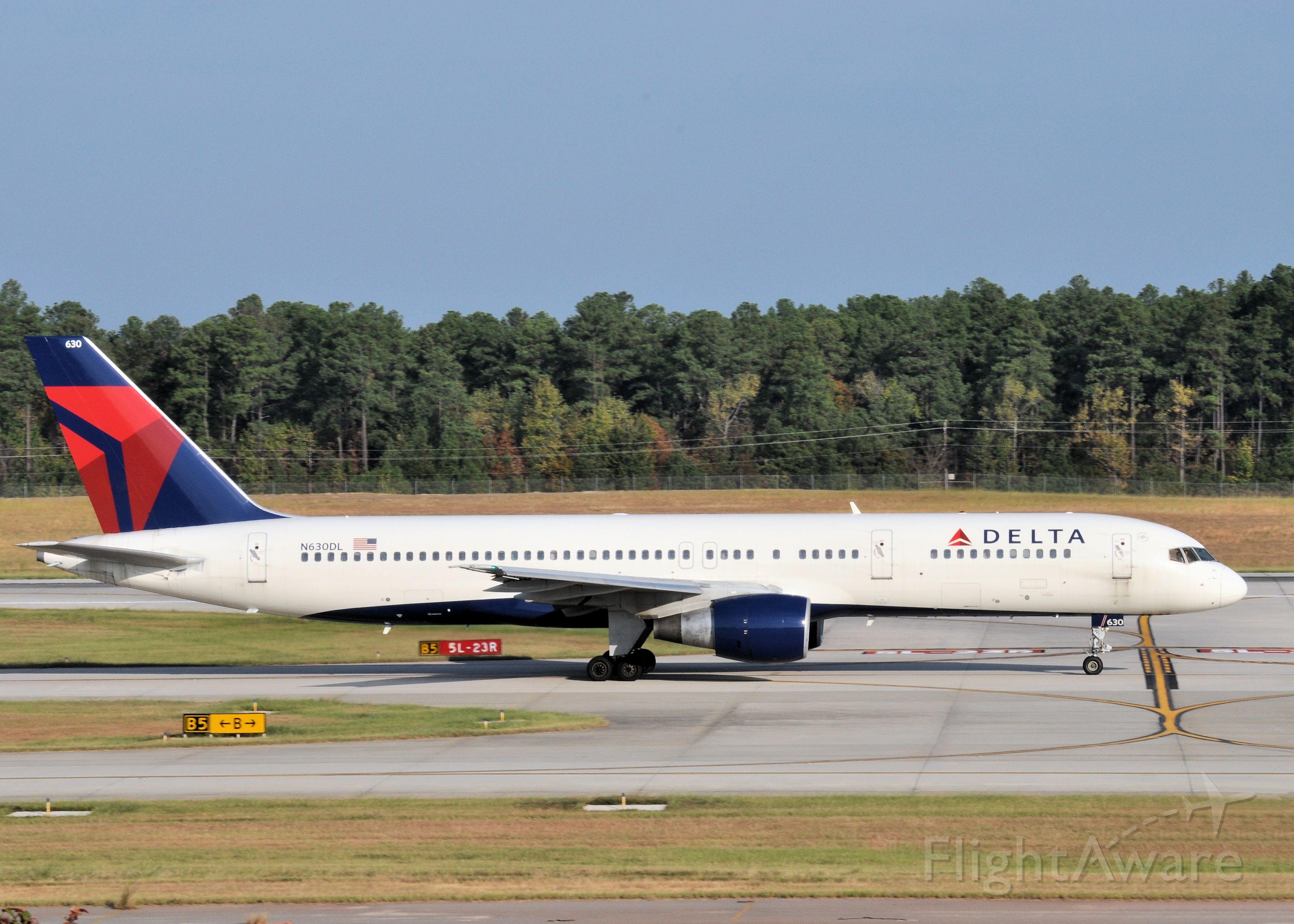 Boeing 757-200 (N630DL)
