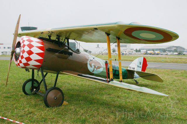 LX-NIE — - Nieuport 28 C.1 Replica, Static display, Rennes-St Jacques airport (LFRN-RNS) Air show 2014
