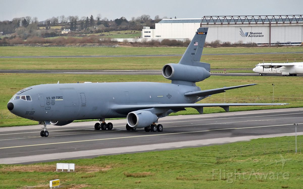 83-0081 — - usaf mcguire kc-10a 830081 at shannon 17/3/14