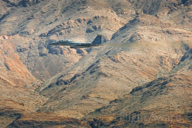 McDonnell Douglas F-15 Eagle (N1671) - Full power thru the canyons.