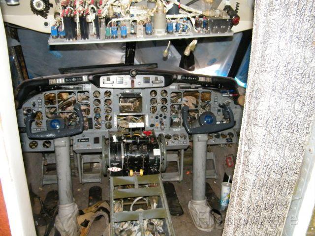 Gulfstream American Gulfstream 2 (N671LW) - All instrumentation is gone as well as the seats.