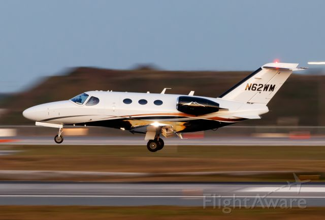 Cessna Citation Mustang (N62WM)