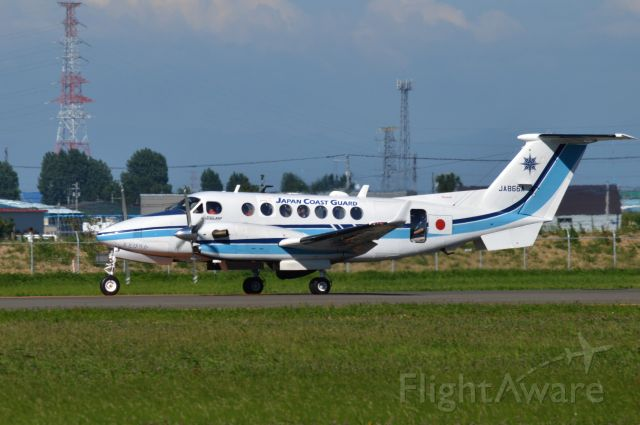 Beechcraft Super King Air 350 (JA866A) - 2016-07-24 <br />Beechcraft B300