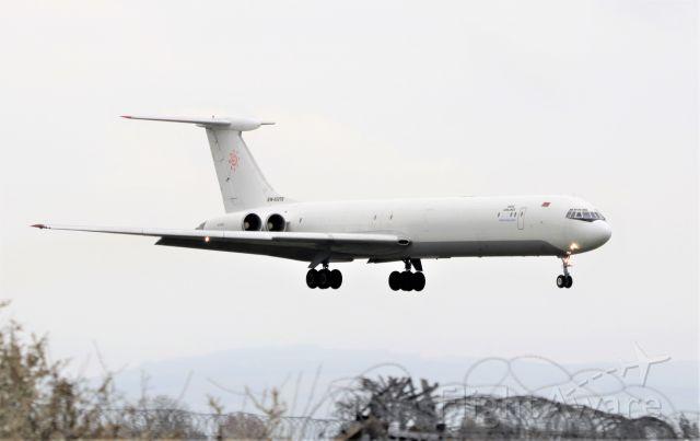 Ilyushin Il-62 (EW-450TR) - rada airlines il-62mgr ew-450tr landing at shannon from abuja nigeria 19/4/21.
