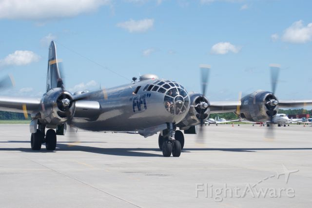 Boeing B-29 Superfortress (NX529B) - B-29 Fifi visits Charleston, SC - Parking