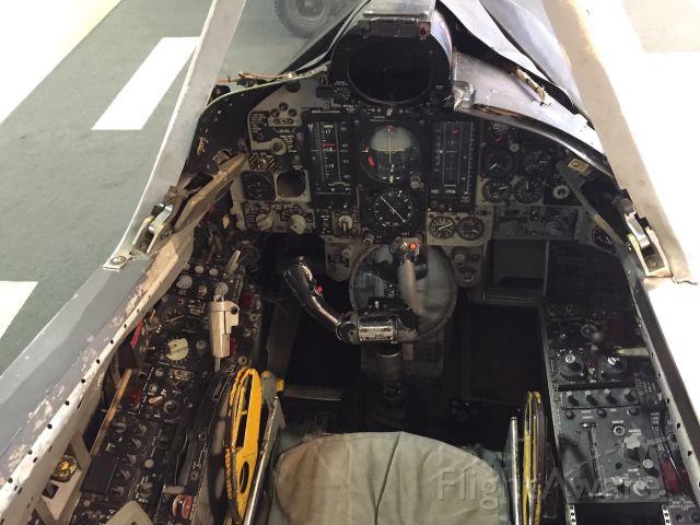 CONVAIR QF-106 Delta Dart — - Convair F-106 Delta Dart cockpit
