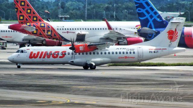 Aerospatiale ATR-72-600 (PK-WJT)