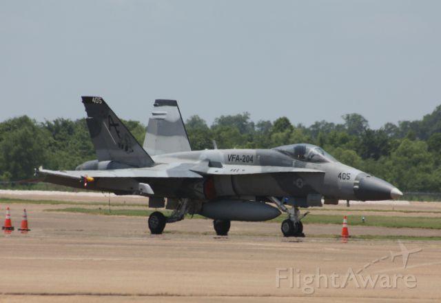 McDonnell Douglas FA-18 Hornet — - VFA-204
