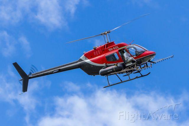 Bell JetRanger (VH-AGK)