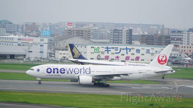 Boeing 777-200 (JA771J) - ONEWORLD特別塗装機