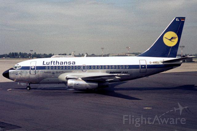Boeing 737-100 (D-ABEL) - 1967 at Düsseldorf (EDDL)