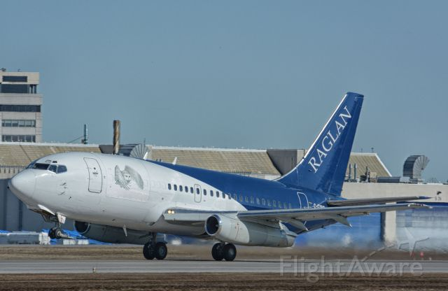 Boeing 737-200 (C-GXNR) - RAG200 taking off from CYUL, 27-03-2020