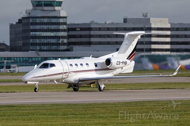 Embraer Phenom 300 (CS-PHB) - Another Netjets flight departs.