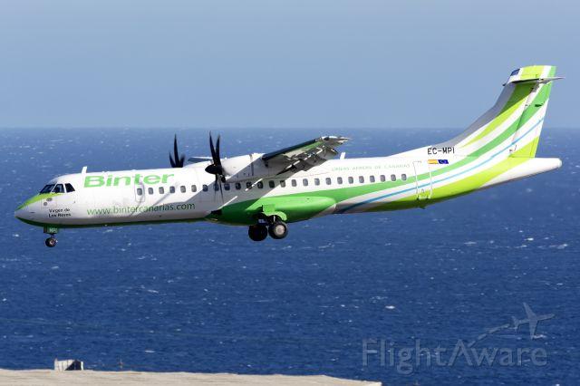 Aerospatiale ATR-72-600 (EC-MPI) - TENERIFE SUR<br />05 JUN 2021