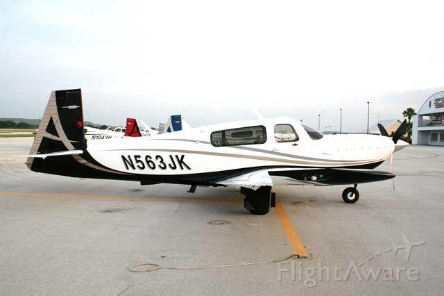 Mooney M-20 Turbo (N563JK)