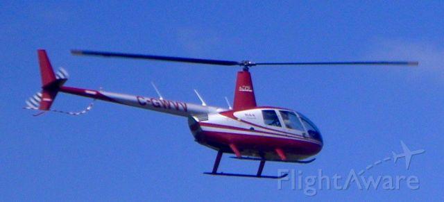 Robinson R-44 (C-GWVV) - CGWVV Robinson R-44 Helicopter.