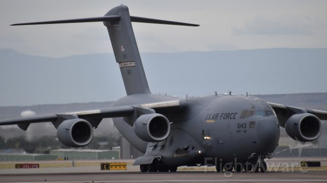 "Boeing Globemaster III (05-5143) - Boeing C-17A ""Globemaster III"" from the 445th Airlift Wing"