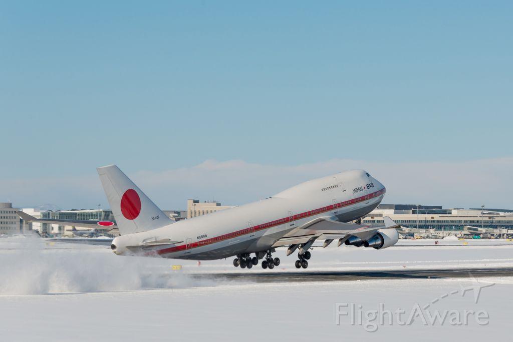 Boeing 747-400 (20-1102)