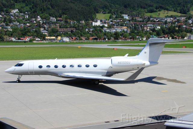 Gulfstream Aerospace Gulfstream G650 (N650GU)