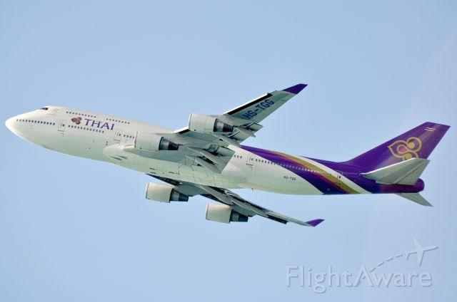 Boeing 747-200 (HS-TGG) - Boeing 747-4D7 Thai Airways