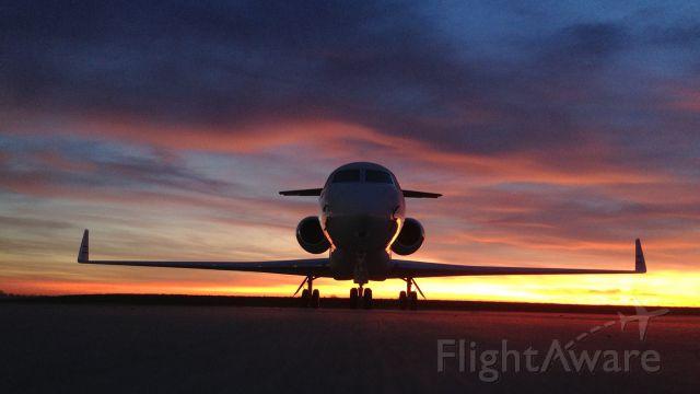 Gulfstream Aerospace Gulfstream V — - Taken with iPhone5 at HenriksenJetCenter