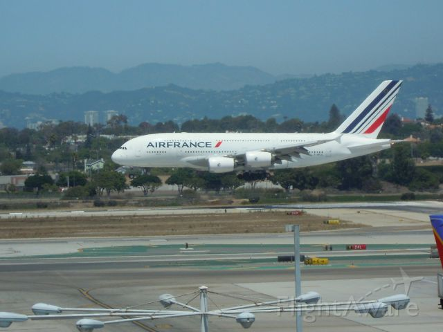 Airbus A380-800 — - AIR FRANCE A380-861 LAX