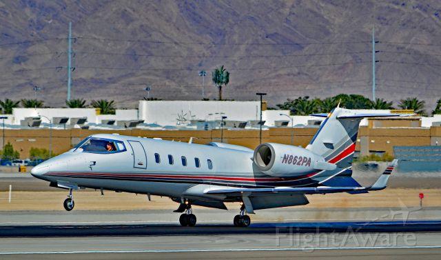 Learjet 60 (N862PA) - N862PA 1993 LEARJET  60 s/n 014 - Las Vegas - McCarran International (LAS / KLAS)br /USA - Nevada, March 16, 2016br /Photo: Tomás Del Coro