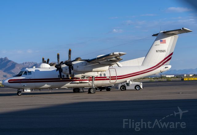 De Havilland Canada Dash 7 (N705GG) - 8/9/2020