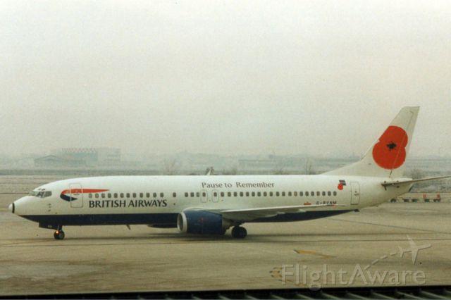 G-BNVM — - Boeing 737-400