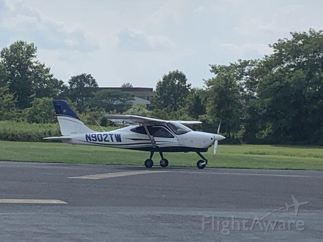 TECNAM P-2008 (N902TW) - N902TW (P208) departing Wings Field (KLOM)br /Photo Date: August 9, 2021