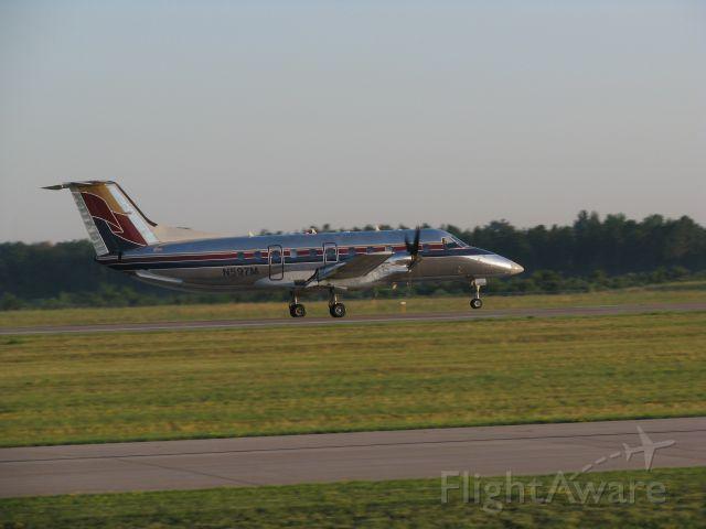 Embraer EMB-120 Brasilia (N597M) - Menards departing Runway 4