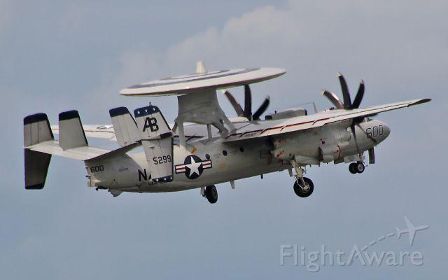 16-5299 — - u.s.navy e-2c hawkeye 165299 departing shannon 29/5/14.