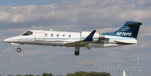 Learjet 31 (N276PS) - A Learjet 31A just prior to arriving Runway 36 at Pryor Field Regional Airport, Decatur, AL - April 27, 2018.