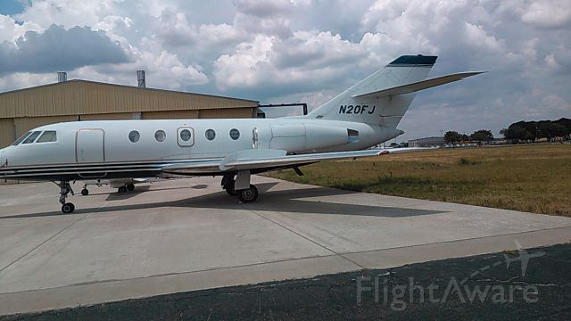 Dassault Falcon 20 (N20FJ) - Sitting for at least a year at KCPT